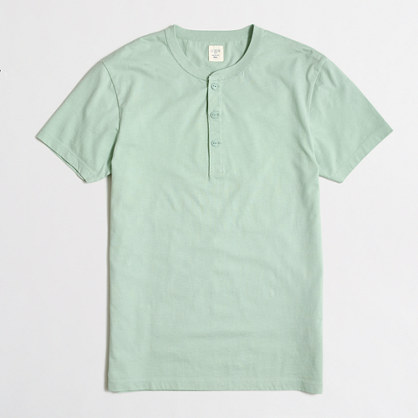 Short-sleeve henley