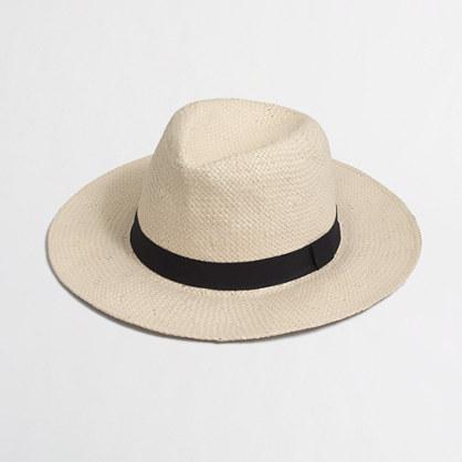Factory panama hat
