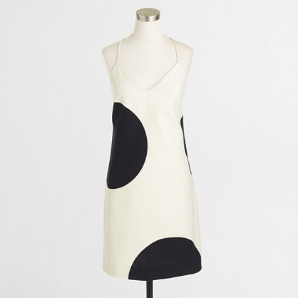 Factory dotted racerback dress