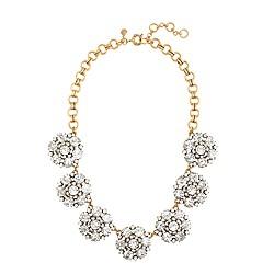 Circular petals necklace