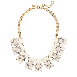 White stones necklace