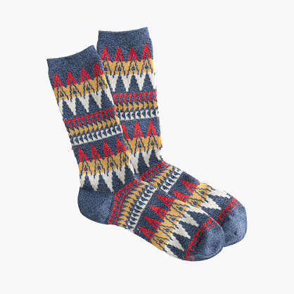"Anonymous Ismâ""¢ zigzag socks"