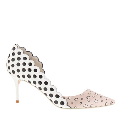 Sophia Webster for J.Crew Anneka kitten heel pumps