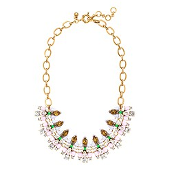 Mixed gems necklace