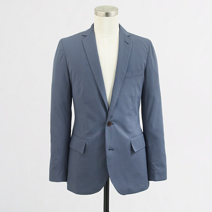 Thompson unconstructed sportcoat in twill