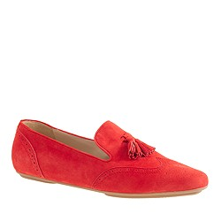 Georgie suede tassel loafers