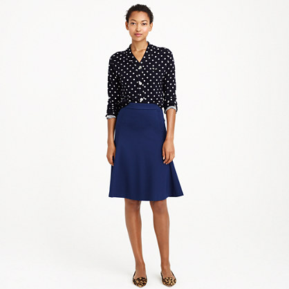 structured a line skirt skirts j crew