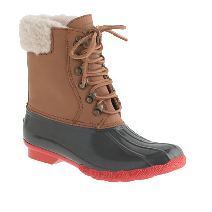 Women's Sperry Top-Sider® for J.Crew Shearwater boots