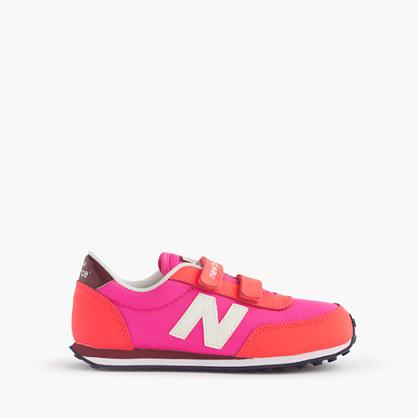Kids' New Balance® for crewcuts glow-in-the-dark KE410 sneakers