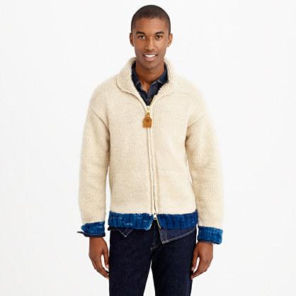 "Canadian Sweater Companyâ""¢ cashmere full-zip sweater"