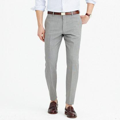 Crosby Traveler suit pant in Italian wool
