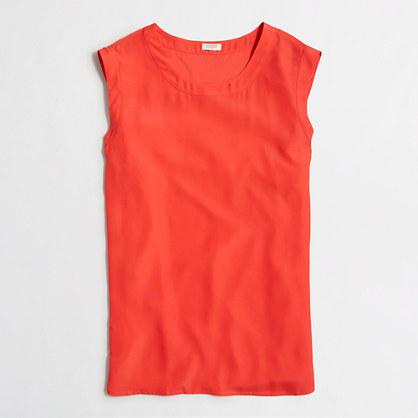 Factory drapey sleeveless top