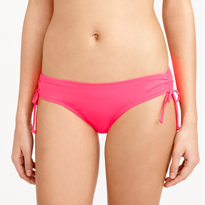Neon side-tie bikini bottom