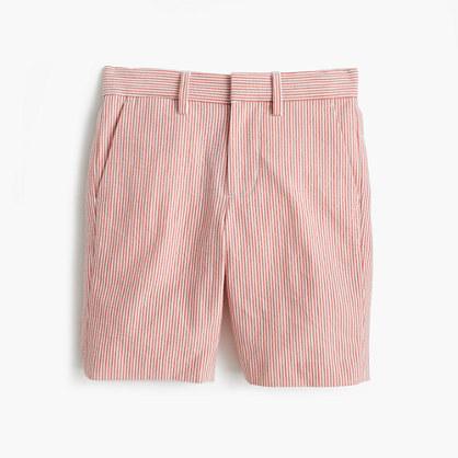 Boys' Ludlow short in seersucker
