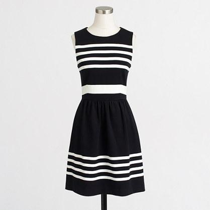Factory striped daybreak dress