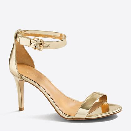 Factory high-heel sandals