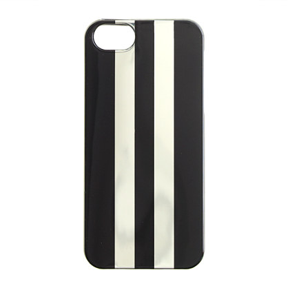 Painted stripe rubber case for iPhone® 5/5s