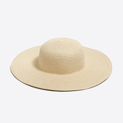 Girls' wide-brim sun hat