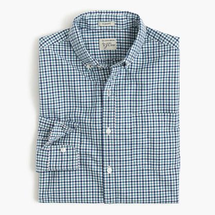 Secret Wash shirt in tattersall