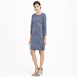 Jet set geo shift dress