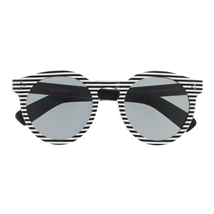 """Illestevaâ""""¢ Leonard II stripe sunglasses"""