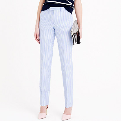 Women's Bowery pant in stripe