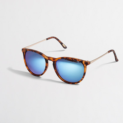 Factory modern tortoise sunglasses