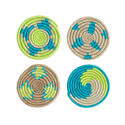 "Indego Africaâ""¢ coasters"
