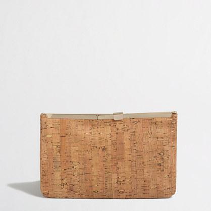 Factory cork frame clutch