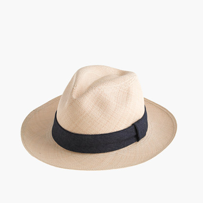 "Paulmannâ""¢ panama hat with indigo band"