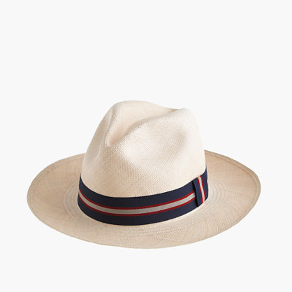 "Paulmannâ""¢ panama hat with striped band"