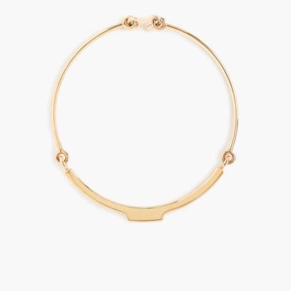 W. Britt® for J.Crew bar collar necklace