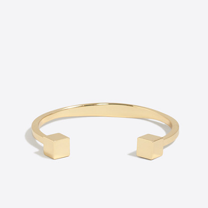 Factory golden cuff bracelet