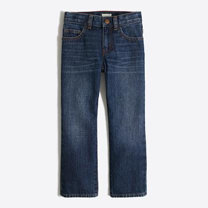 Factory boys' straight jean