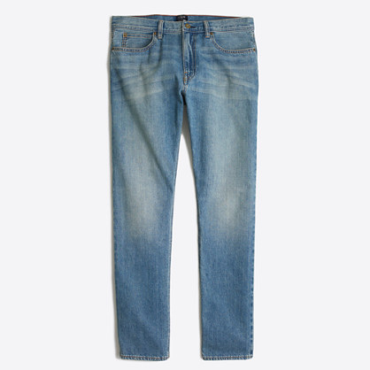 Factory Sutton selvedge jean in light wash