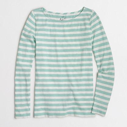 Factory striped artist T-shirt