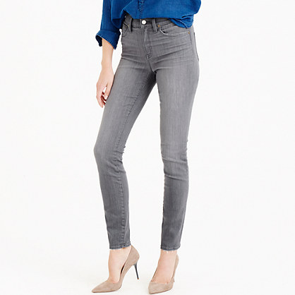 Lookout high-rise jean in medium grey