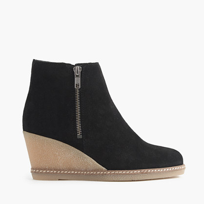 MacAlister zip wedge boots
