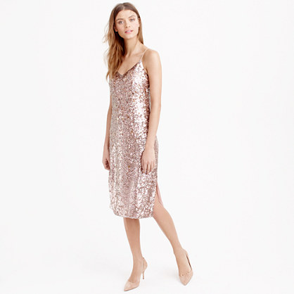 Collection sequin cami dress