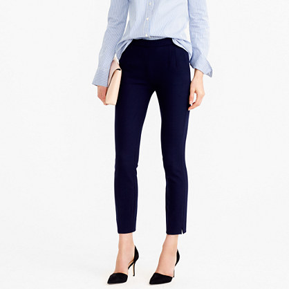 Martie pant in bi-stretch wool