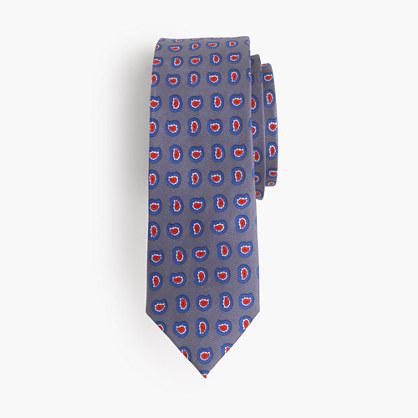 Boys' silk tie in paisley