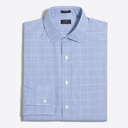 Thompson dress shirt in multi-plaid