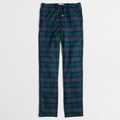 Factory Black Watch flannel sleep pant