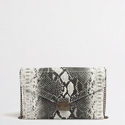 Factory embossed clutch