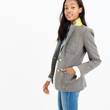 Rhodes blazer in puppytooth