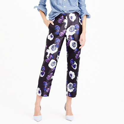 Patio pant in violet poppy