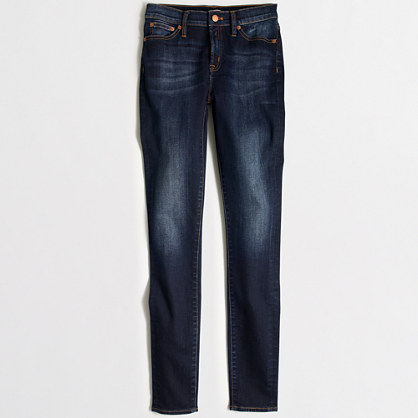 Factory grace wash high-rise skinny jean with 29