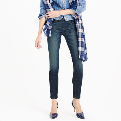 Tall toothpick jean in seajay wash
