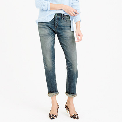 Point Sur Japanese denim with cashmere jean in lynndale wash