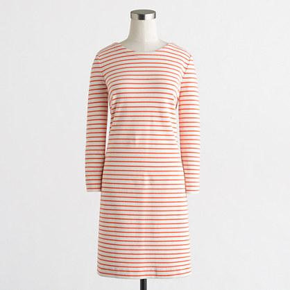 Factory striped knit dress
